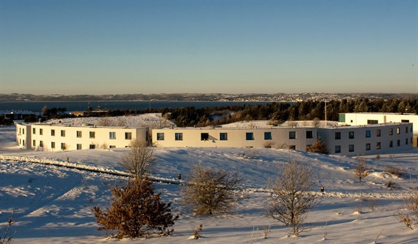 European Film College in Ebeltoft at winter time