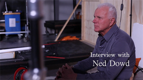 Ned Dowd interview still