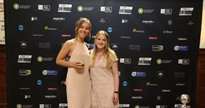 Former students at European Film College, Stinna Lotus Nagel and Karoline Hallengren, visiting Cape Town International Film Festival with their graduation film